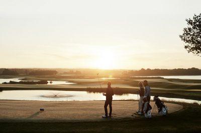 Baanles i.c.m. golfprofessional